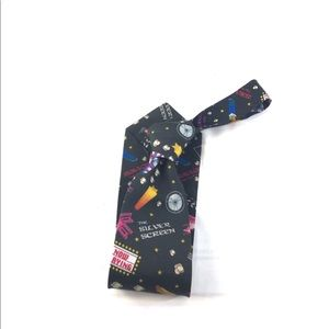 Cinema Theme Flavor Wash Tie